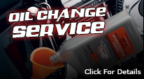 All Out Powersports oil change special for $39.99